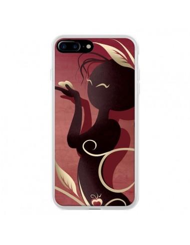 Coque Femme Asiatique Love Coeur pour iPhone 7 Plus et 8 Plus - LouJah
