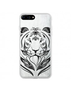 Coque Tattoo Tiger Tigre pour iPhone 7 Plus et 8 Plus - LouJah