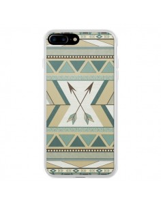 Coque Aztec Pattern Arrows Fleche Azteque Tribal pour iPhone 7 Plus et 8 Plus - LouJah