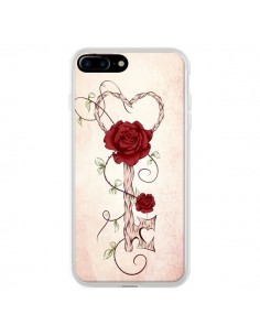 Coque Key of Love Clef Amour pour iPhone 7 Plus - LouJah