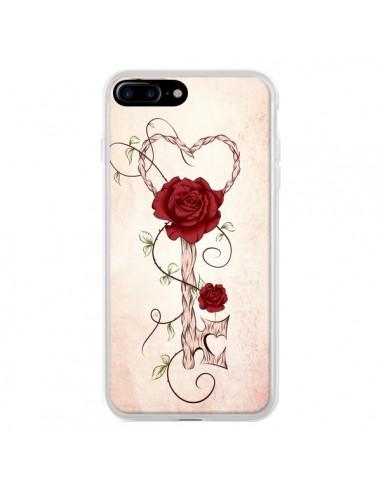 Coque iPhone 7 Plus et 8 Plus Key of Love Clef Amour - LouJah