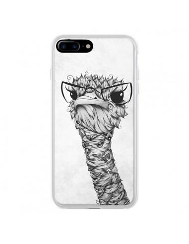 Coque iPhone 7 Plus et 8 Plus Ostrich...