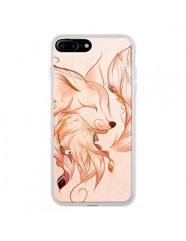 Coque iPhone 7 Plus et 8 Plus Fox...