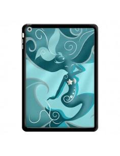 Coque La Petite Sirene Blue Mermaid pour iPad Air - LouJah
