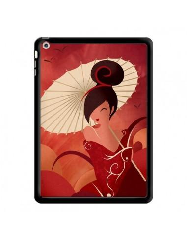 Coque Sakura Asian Geisha pour iPad Air - LouJah