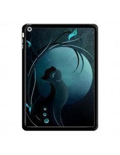 Coque Chat Clair de Lune Moonlight pour iPad Air - LouJah