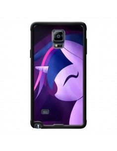 Coque I Love Unicorn Licorne pour Samsung Galaxy Note 4 - LouJah