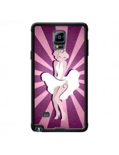 Coque Marilyn Monroe Design pour Samsung Galaxy Note 4 - LouJah