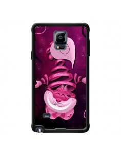 Coque Chat du Cheshire Ribbon Cat pour Samsung Galaxy Note 4 - LouJah