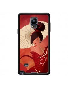 Coque Sakura Asian Geisha pour Samsung Galaxy Note 4 - LouJah