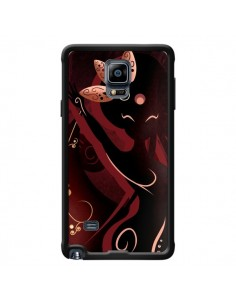 Coque Sarah Oriantal Woman Femme pour Samsung Galaxy Note 4 - LouJah