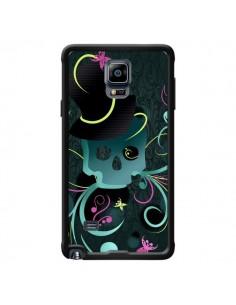 Coque Tête de Mort Papillon Skull pour Samsung Galaxy Note 4 - LouJah