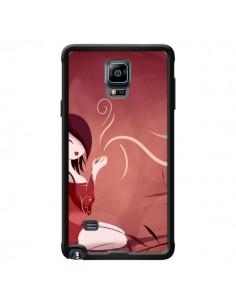 Coque Femme Thé Tea Time pour Samsung Galaxy Note 4 - LouJah
