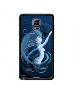 Coque Aquarius Girl La Petite Sirene pour Samsung Galaxy Note 4 - LouJah