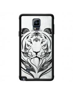 Coque Tattoo Tiger Tigre pour Samsung Galaxy Note 4 - LouJah