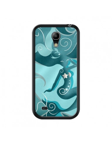 Coque La Petite Sirene Blue Mermaid pour Samsung Galaxy S4 Mini - LouJah