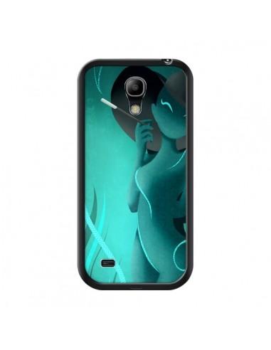 Coque Femme Enora Blue Smoke pour Samsung Galaxy S4 Mini - LouJah