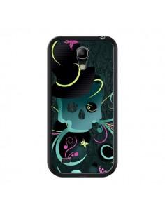 Coque Tête de Mort Papillon Skull pour Samsung Galaxy S4 Mini - LouJah