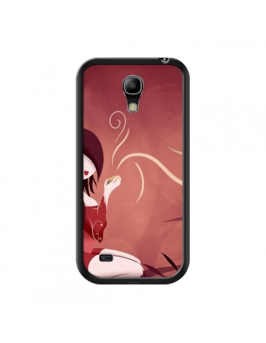 Coque Femme Thé Tea Time pour Samsung Galaxy S4 Mini - LouJah