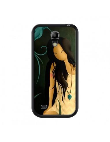 Coque Femme Indienne Pocahontas pour Samsung Galaxy S4 Mini - LouJah