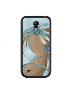 Coque Femme Plume Zoey Woman Feather pour Samsung Galaxy S4 Mini - LouJah