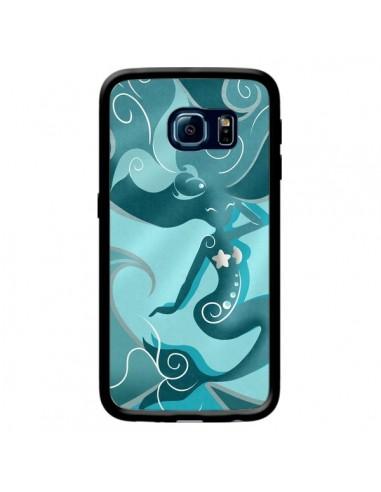 Coque La Petite Sirene Blue Mermaid pour Samsung Galaxy S6 Edge - LouJah