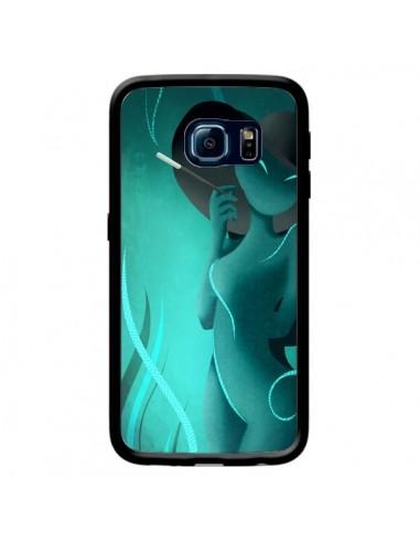 Coque Femme Enora Blue Smoke pour Samsung Galaxy S6 Edge - LouJah