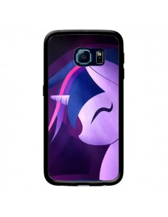 Coque I Love Unicorn Licorne pour Samsung Galaxy S6 Edge - LouJah