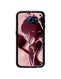 Coque Femme Asiatique Akiko pour Samsung Galaxy S6 - LouJah