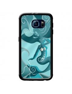 Coque La Petite Sirene Blue Mermaid pour Samsung Galaxy S6 - LouJah