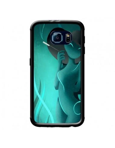 Coque Femme Enora Blue Smoke pour Samsung Galaxy S6 - LouJah