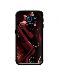 Coque Sarah Oriantal Woman Femme pour Samsung Galaxy S6 - LouJah