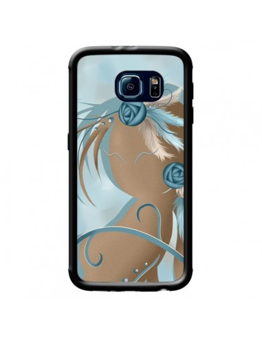 Coque Femme Plume Zoey Woman Feather pour Samsung Galaxy S6 - LouJah