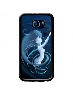Coque Aquarius Girl La Petite Sirene pour Samsung Galaxy S6 - LouJah