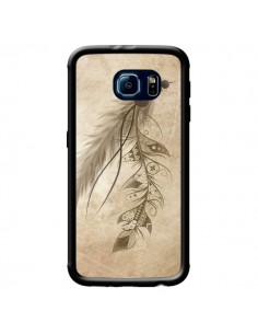 Coque Bohemian Feather Plume Attrape Reves pour Samsung Galaxy S6 - LouJah
