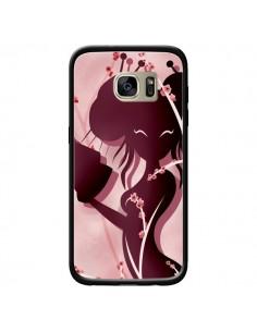 Coque Femme Asiatique Akiko pour Samsung Galaxy S7 Edge - LouJah