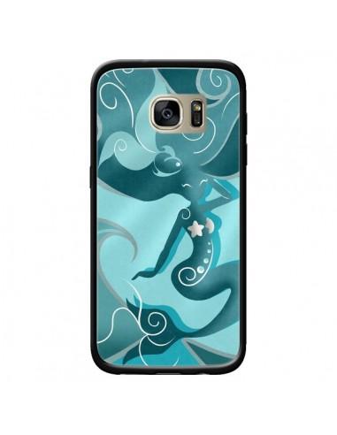 Coque La Petite Sirene Blue Mermaid...