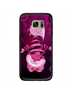 Coque Chat du Cheshire Ribbon Cat pour Samsung Galaxy S7 Edge - LouJah
