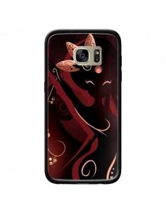 Coque Sarah Oriantal Woman Femme pour Samsung Galaxy S7 Edge - LouJah