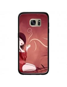 Coque Femme Thé Tea Time pour Samsung Galaxy S7 Edge - LouJah