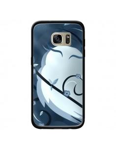 Coque Chouette Hibou Asiatique pour Samsung Galaxy S7 Edge - LouJah