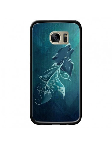Coque Wolfeather Plume Loup pour...