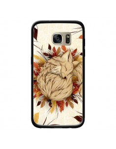 Coque Night Fall Renard Automne pour Samsung Galaxy S7 Edge - LouJah