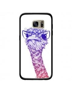 Coque Ostrich Colors Autruche Couleur pour Samsung Galaxy S7 Edge - LouJah