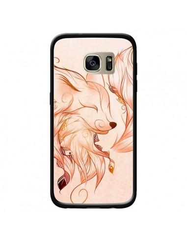 Coque Fox Renard Rouge pour Samsung Galaxy S7 Edge - LouJah