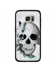 Coque Skull Boho Tête de Mort pour Samsung Galaxy S7 Edge - LouJah