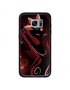 Coque Sarah Oriantal Woman Femme pour Samsung Galaxy S7 - LouJah