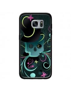 Coque Tête de Mort Papillon Skull pour Samsung Galaxy S7 - LouJah