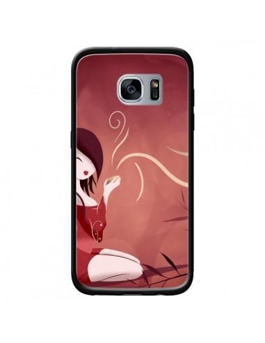 Coque Femme Thé Tea Time pour Samsung...