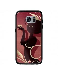Coque Femme Asiatique Love Coeur pour Samsung Galaxy S7 - LouJah